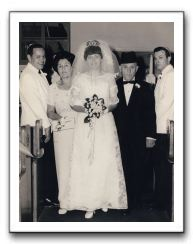 1967 david gladys wedding for Sarah barg